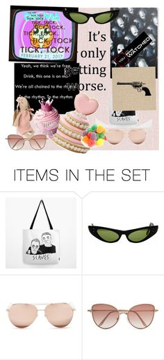 """""""Dance Dance Dance To The Distortion"""" by itsflynn ❤ liked on Polyvore featuring art"""