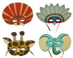 mascaras carnaval - Buscar con Google