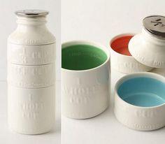 Milk Bottle Measuring Cups,  Yes please in my kitchen!!