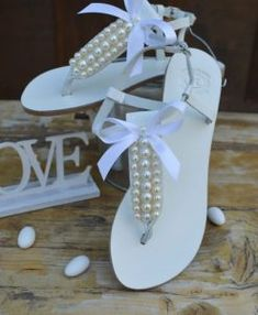 Greek Leather Sandals, Wedding accesories and more by OneironPraxis Gladiator Sandals, Leather Sandals, Bridal Sandals, Flip Flops, Unique, Shoes, Etsy, Fashion, Moda