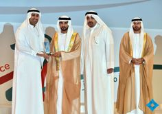 News - Mohammed honors DQP?s founders and coordinators6/2/14 20th Anniversary of Dubai Business Excellence Awards.  Mardinat Jumeirah Arena...