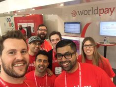 Wordplay Talent: With headquarters in Atlanta, GA, Worldpay is a globally represented and world-leading provider of business payment services. Here, on a quick break from their busy duties are some of the UK-based staff of WorldpayTalent, the company's careers and recruitment arm.