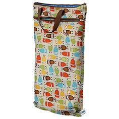 Planet Wise Hanging Wet/Dry Bag, Owl Planet Wise
