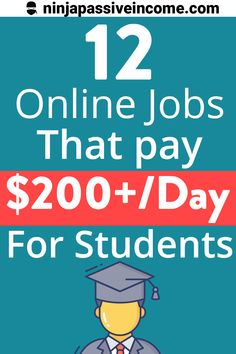 Find out the 12 best online jobs for college students. The best one for me is number 3! #extracashincollege #makemoneyasacollegestudent #makemoneyonline #workfromhome #onlinejobs Earn Money Online, Make Money Blogging, Make Money From Home, Way To Make Money, I Am Number, Best Online Jobs, Virtual Assistant, How To Apply, How To Make