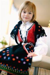 213-1 Going Out Of Business, Costumes, Bergen, Children, Norway, Sweaters, Vest, Fashion, Hardanger