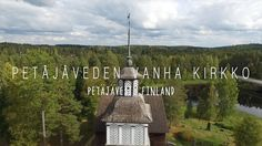 Petajaveden Vanha Kirkko - Petäjävesi, Finland - DJI Phantom 3 Professional. Video online: https://youtu.be/CMwqNRVVoWM #UNESCO #Petäjävesi #Finland #drone Larsscheve.nl