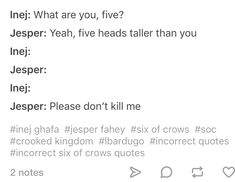 Credit to incorrect-six-of-crows-quotes on tumblr