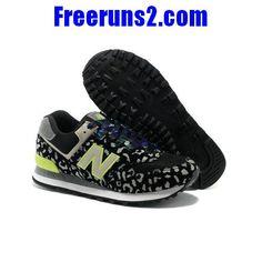 9cbf185c777e0 Achat/Vente New Balance 574 Leopard Print edition vert Gris Noir Chaussures  Femmes|NewBalance574Femmes