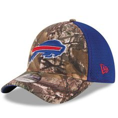 97b5ba763ff Men s Buffalo Bills New Era Realtree Camo Neo 39THIRTY Flex Hat