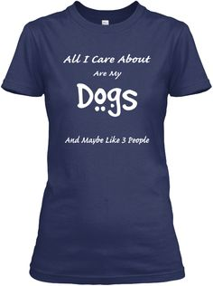 Care About Dogs: Teespring Campaign