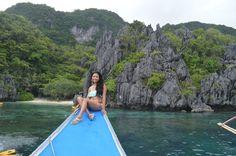 small lagoon El Nido, Palawan Philippines