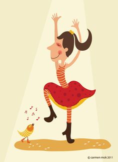 Carmen Mok's Illustration @ www.carmenmokstudio.com