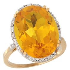 Large Citrine and fine diamonds set in yellow gold Mother Jewelry, Citrine Ring, Halo Diamond, Halo 3, Jewelery, Band, Rings, Stuff To Buy, Bright Yellow