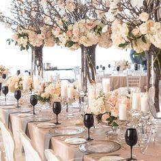 Centros de mesa - decoración de la boda de Toronto Rachel A. Clingen boda y Diseño de eventos