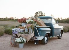 Vintage Truck with Flowers | photography by http://carrie-patterson.squarespace.com/