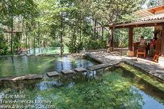 Santa Teresa Hot Springs - Ahuachapan, El Salvador