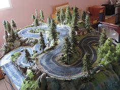 pasionslot - Tramo de rally subida santa Perpetua - Decoración y S&B de Circuitos