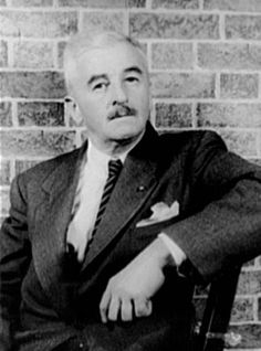 William Faulkner, American writer who won the 1949 Nobel Prize for Literature and is best known for his works set in the fictional Yoknapatawpha County.