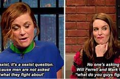 22 Times Tina Fey And Amy Poehler Shut Down Sexism In The Best Damn Way