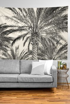 Lisa Argyropoulos San Diego Palms Tapestry | DENY Designs Home Accessories