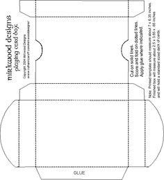 60 card deck box template for magic pokemon yu gi oh. Black Bedroom Furniture Sets. Home Design Ideas