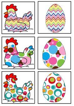 Juf Emmy! Memory de kip en het ei Deel 2