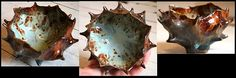 Organic Ceramic Pinch Pot, Glazed Stoneware by corimorenberg.com, via Flickr