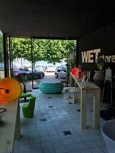 www.wetstore.it Concept store at the lake Maggiore ITALIA. In Porto Valtravaglia