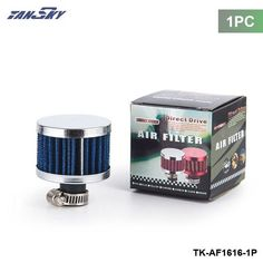 TANSKY -1PC small super power flow air filter 51*51*40 (NECK:about11mm) air intake filter For FORD MONDEO TDCi 2.0 TK-AF1616-1P