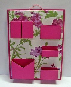 i feel like you could DIY this and put it in your locker and it would be perfect. Cardboard Furniture, Cardboard Crafts, Paper Crafts, Diy And Crafts, Crafts For Kids, Arts And Crafts, Diy Karton, Carton Diy, Diy Box