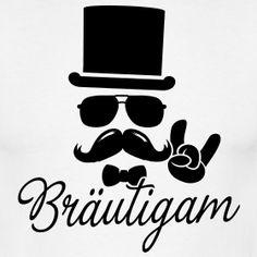 Bräutigam - Gentleman | Poltershirts.com - T-Shirts für den Polterabend!