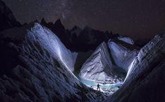 Le photographe polonais David Kaszlikowski a réalisé une superbe série de photographies d'un glacier dans la région du Karakoram du Pakistan lors d'une expédition.