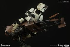 Star Wars Speeder Bike Sixth Scale Figure Related Product by | Sideshow Collectibles