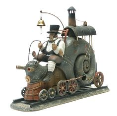 magical snail train - pretty sure I need one of these