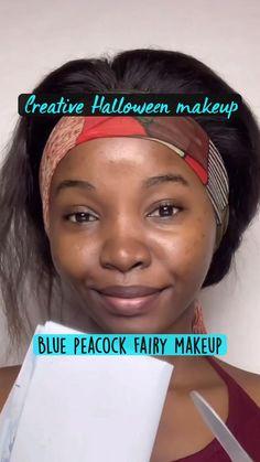 Peacock Blue, Makeup Inspo, Halloween Makeup, Haloween Makeup