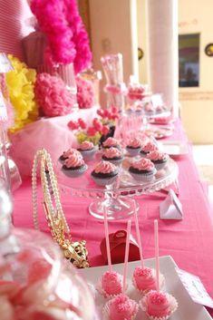 Kendra's Princess Party | CatchMyParty.com