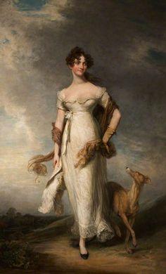 ca 1810 - Georgiana Maria, Lady Leicester by William Owen