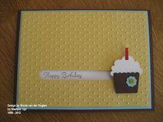 Nicole's Stempelspass: Happy Birthday - Kullerkarte