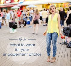 What to Wear for Engagement Photos. A useful guide to help pick the perfect outfit for your upcoming Wedding engagement shoot!