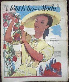 LE Petit Echo DE LA Mode N°21 DU 21 MAI 1939 Mode Vintage | eBay