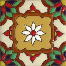 High relief Malibu Tile Classic Handmade Tiles, crafted by masterful Mexican artisans, skillfully hand painted, full of color. Combine colors and patterns to create your individual design and atmosphere with vibrant designs in creative ceramic tiles Vitromosaico Ideas, Decor Ideas, Mexican Ceramics, Mexican Art, Mexican Tiles, Spanish Tile, Handmade Tiles, Tile Art, Tile Painting