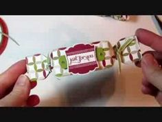Christmas Cracker Box with Envelope Punch Board - YouTube cracker box, envelop punch, christma cracker, christmas crackers
