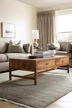 Inspired by Asian design details with a modern edge, our Berkeley coffee table bridges classic and contemporary styles. Expertly constructed of wood in North Dakota. Room Furniture, Modern Coffee Tables, Living Room Decor, Modern Room, Modern Furniture Living Room, What Is Interior Design, Coffee Table, Living Room Furniture, Room