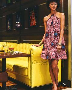 """SS16 Preview |• The Nuru Dress  Captured by •• @scrole_vision  Model •• @janinetondu  At the  @archerhotels #NYC"""