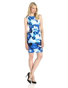 Calvin Klein Women's Sheath Dress with Zipper Detail >>> Find out more about the great product at the image link.