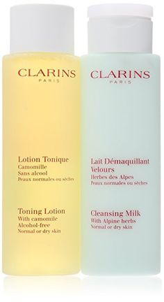 Clarins Everyday Cleansing 2 Piece Kit for Normal or Dry Skin, Review
