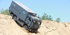 MAn 6x6 Camper ARMADILLO Specialty Vehicles Ltd.