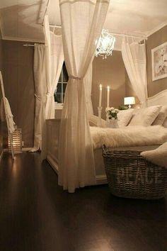 Vintage romantic bedroom