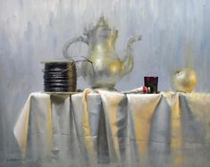 Дэвид Cheifetz, 1981 ~ Американский художник Натюрморт | Tutt'Art @ | Pittura * Scultura * Poesia * Musica |