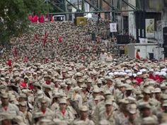 Congreso de Venezuela pide a militares cesar represión